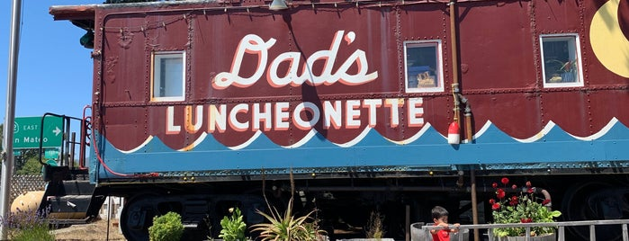 Dad's Luncheonette is one of G&S US Roadtrip 2020.
