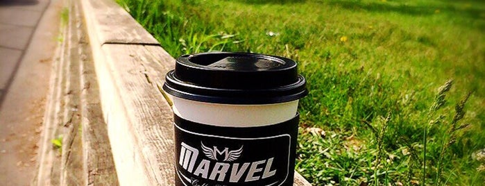 Marvel Coffee Company is one of Indie Coffee Shops in Toronto.