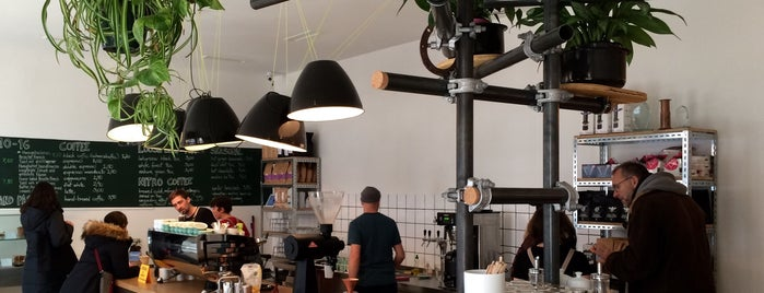 Happy Baristas is one of Berlin Places To Visit.