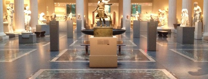 The Metropolitan Museum of Art is one of NYC & Washington DC.