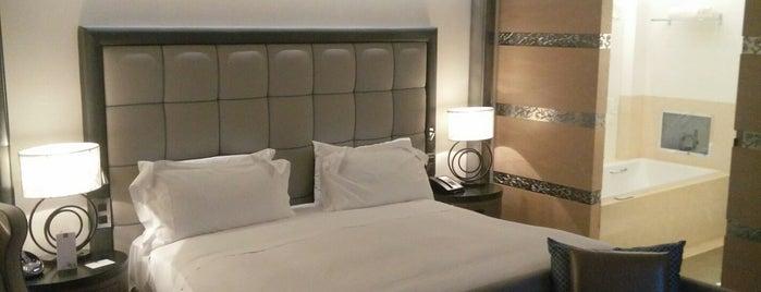 Conrad Algarve is one of Europe resorts (Hilton).