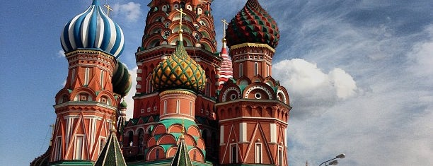 St. Basil's Cathedral is one of World Heritage Sites List.
