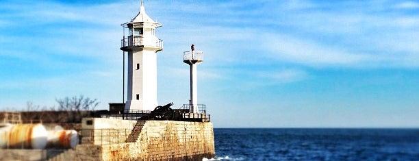 Маяк is one of Crimea.