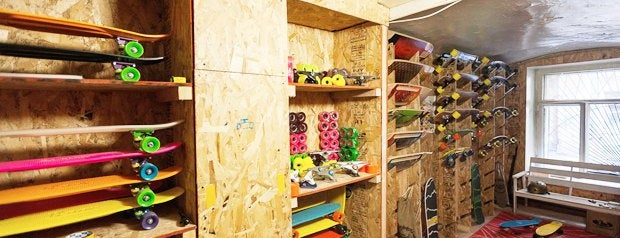 Шоу-рум Angry Boards is one of Путеводитель по арт-кластеру «Архитектор».