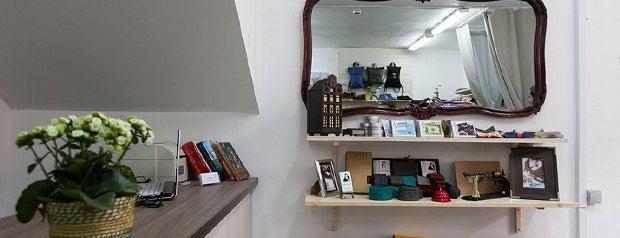 FLIGEL store is one of Где искать одежду петербургских дизайнеров.