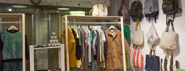 Мыльная белка is one of Где искать одежду петербургских дизайнеров.