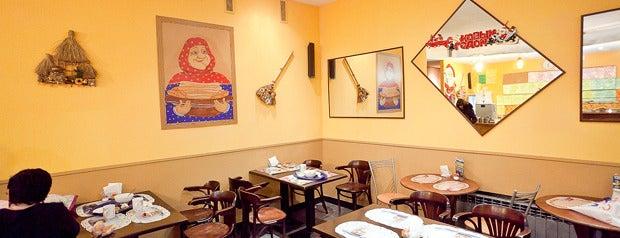 Пирожковая is one of Где дешево и вкусно поесть или выпить в Петербурге.