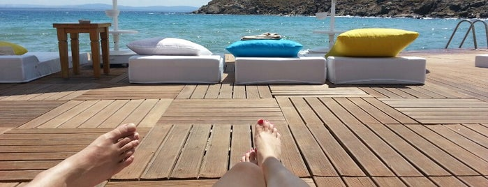 Pelagos Hotel Beach Club is one of Kudra  🍄🍀'ın Beğendiği Mekanlar.