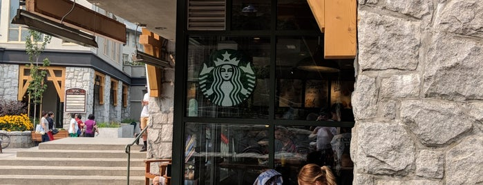 Starbucks is one of Seattle; Vancouver & Whistler.