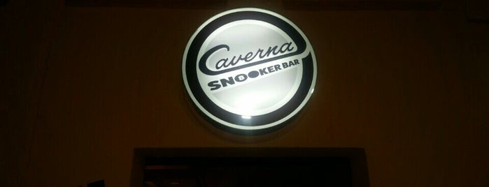 Caverna SnookerBar is one of Marcos K. : понравившиеся места.