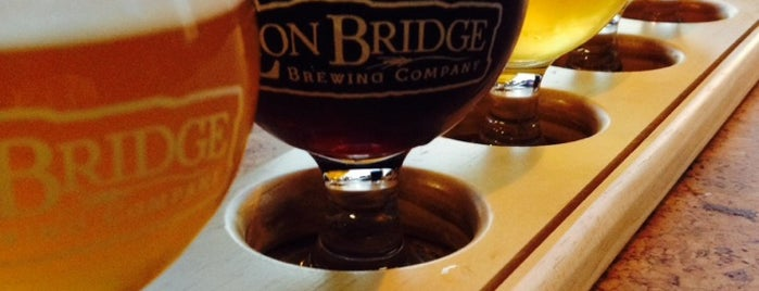 Lion Bridge Brewing Company is one of An Iowa Brewery Tour.