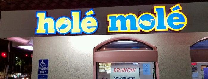 Hole Mole is one of สถานที่ที่บันทึกไว้ของ C.