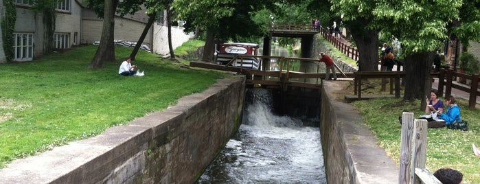 Chesapeake & Ohio (C&O) Canal National Historic Park — Georgetown Visitor Center is one of Washington D.C..