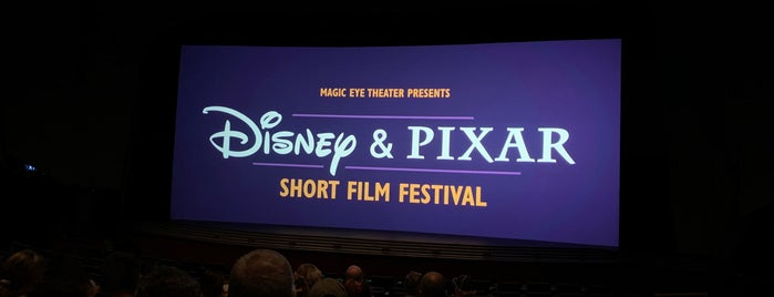 Disney & Pixar Short Film Festival (Magic Eye Theater) is one of สถานที่ที่ Lindsaye ถูกใจ.
