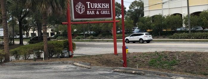 Turkish Bar & Grill is one of สถานที่ที่บันทึกไว้ของ Emre.