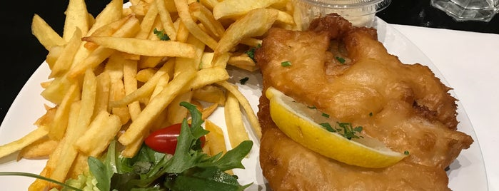 O'fish&chips is one of My Paris places to eat.