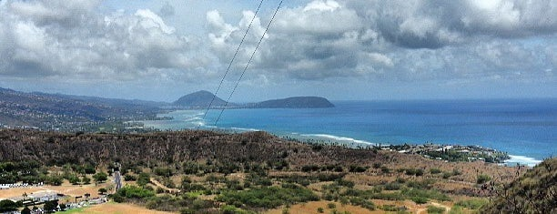 Diamond Head Trail is one of Hawaii.