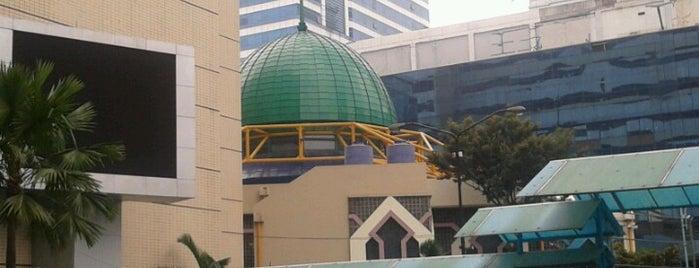Masjid Baitut Tholibin Kemendiknas is one of Jakarta. Indonesia.