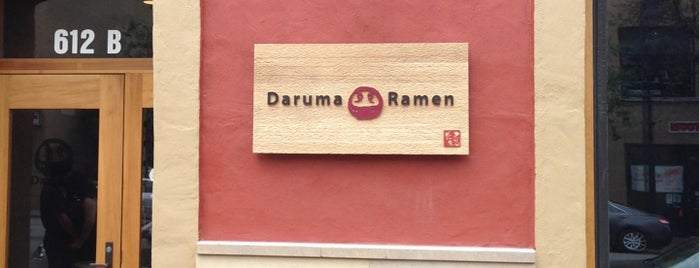 Daruma Ramen is one of Austin favorites.