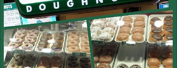 Krispy Kreme Doughnuts is one of dessert.