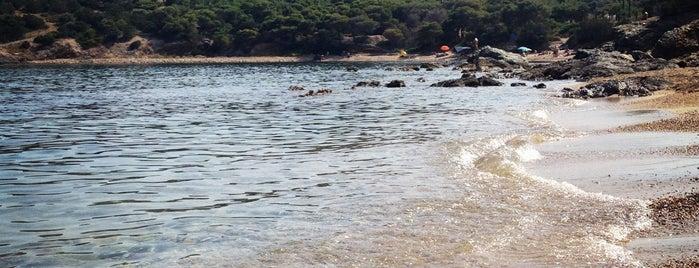 Παραλία Γουλάκου - Λεγρενά is one of Athens Beach.