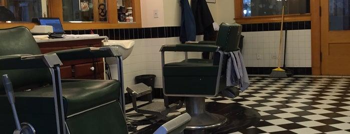 Metropolitan Barbershop is one of Mike'nin Beğendiği Mekanlar.