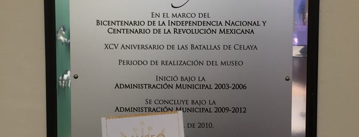 Museo Regional de Celaya is one of #Cervantino2013.