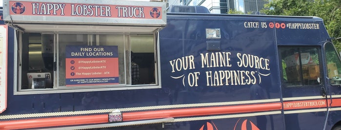 happy lobster truck is one of Austin.