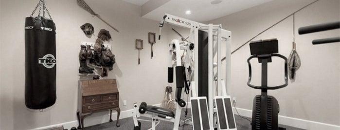 Hjemme Gym is one of Mr. Huseby 💕🍀 #TJ 님이 저장한 장소.