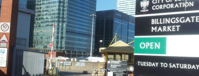 Billingsgate Market is one of ShuckerPaddy's Oyster Bars.