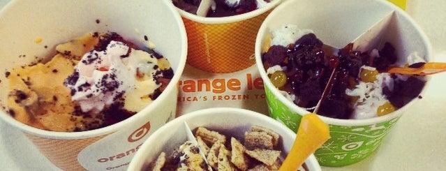 Orange Leaf Frozen Yogurt is one of Brian : понравившиеся места.
