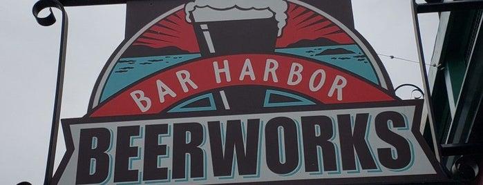 Bar Harbor Beerworks is one of Portland & Acadia.