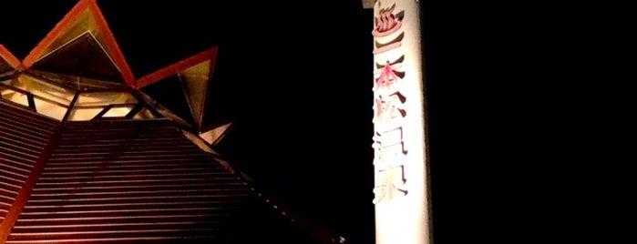 一本松温泉 あけぼの荘 is one of プチ旅行に使える!四国の温泉・銭湯 ~車中泊・ライダー~.
