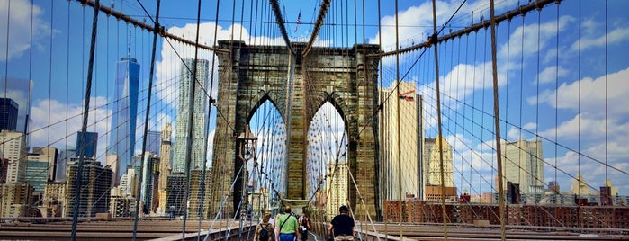 Brooklyn Bridge is one of The New Yorkers: Extracurriculars.