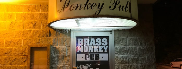 Brass Monkey Pub is one of Kayla's New York Adventure.