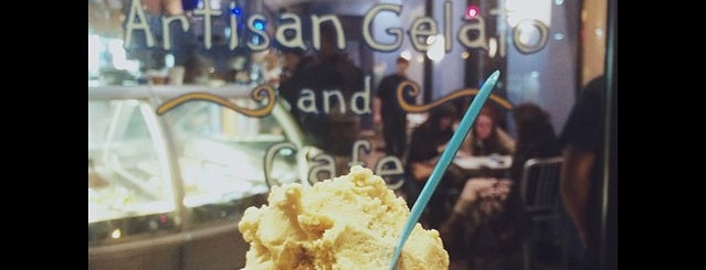 Artisan Gelato And Cafe is one of places to try.