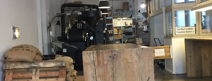 The Barn - Roastery is one of Locais curtidos por Elizabeth.