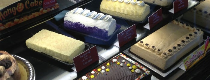 Red Ribbon Bakeshop is one of LA Pinoy Cuisine.