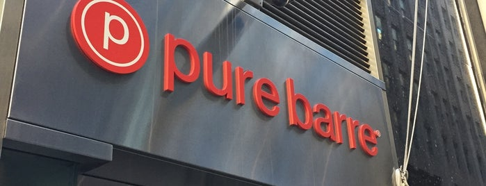 Pure Barre Financial District is one of Lieux qui ont plu à Honghui.