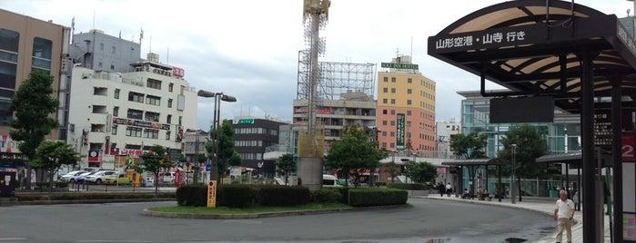 山形駅バスターミナル is one of Masahiro'nun Beğendiği Mekanlar.