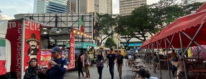 TAPAK Urban Street Dining is one of KL.