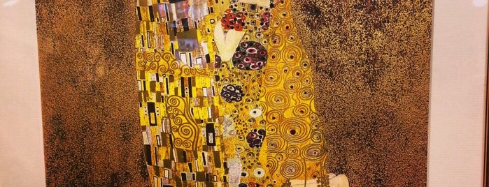 Gallery Gustav Klimt is one of Vienna - unlimited.