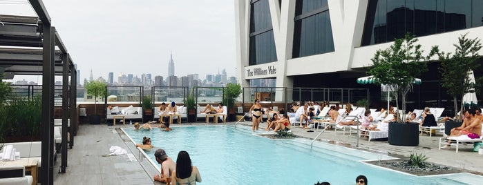 The Pool At The William Vale is one of Brooklyn eats.