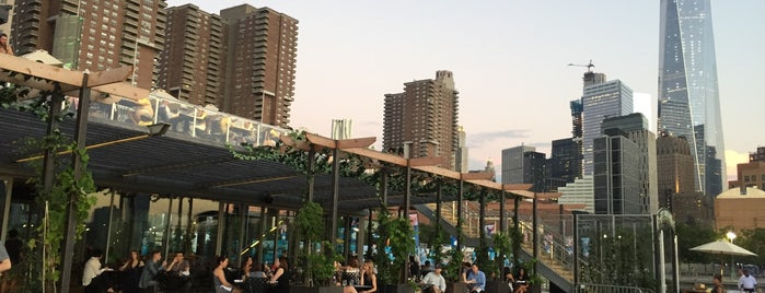 City Vineyard is one of NYC Best Outside/Rooftop Bars.