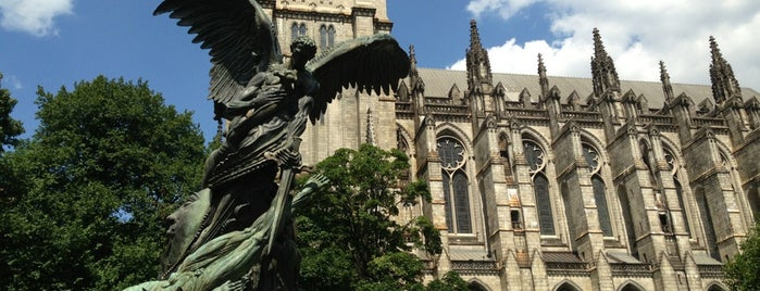 Cathedral Church of St. John the Divine is one of New York TOP Places.