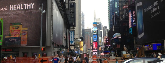 Times Square is one of New York TOP Places.