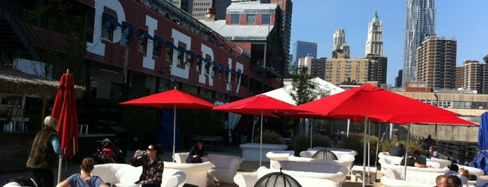 Beekman Beer Garden is one of Eat/drink outside & downtown(ish).