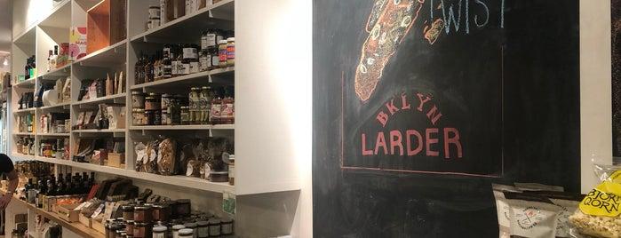 BKLYN Larder is one of Shuang'ın Beğendiği Mekanlar.