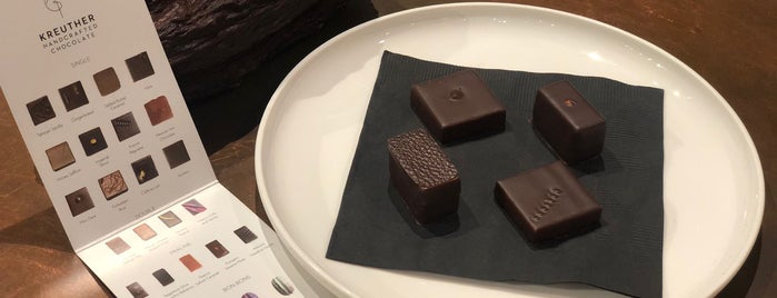 Kreuther Handcrafted Chocolate is one of NYC.