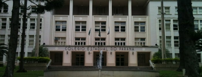 Colégio Estadual do Paraná is one of Curitiba Arte & Cultura.